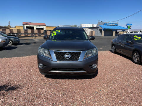 2014 Nissan Pathfinder for sale at SPEND-LESS AUTO in Kingman AZ