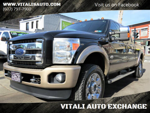 2013 Ford F-250 Super Duty for sale at VITALI AUTO EXCHANGE in Johnson City NY