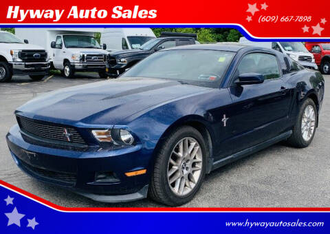 2012 Ford Mustang for sale at Hyway Auto Sales in Lumberton NJ