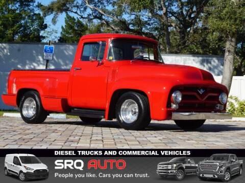 1956 Ford F-1 for sale at SRQ Auto LLC in Bradenton FL
