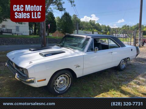 1971 Dodge Dart for sale at C&C Motor Sales LLC in Hudson NC