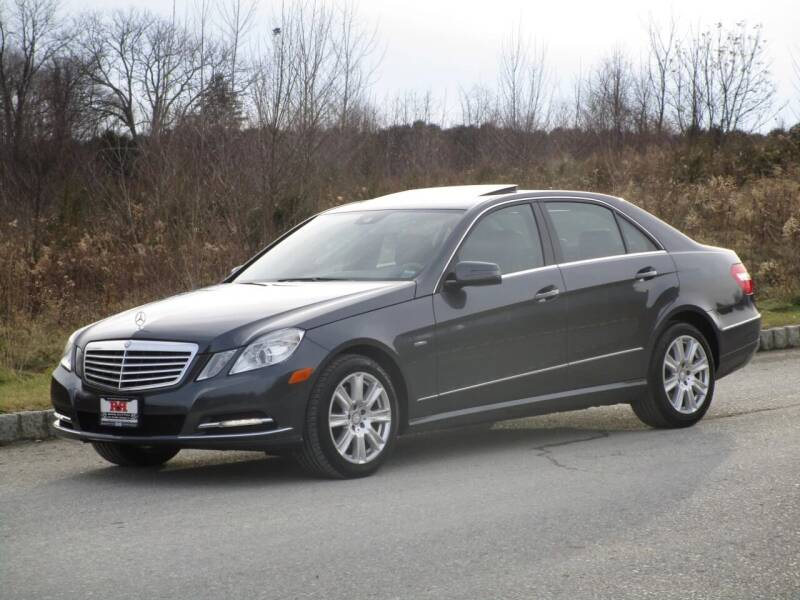 2012 Mercedes-Benz E-Class for sale at R & R AUTO SALES in Poughkeepsie NY