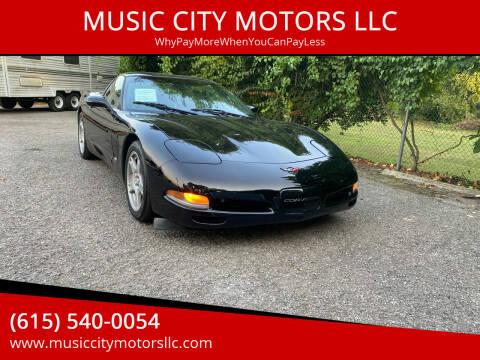 1998 Chevrolet Corvette for sale at MUSIC CITY MOTORS LLC in Nashville TN