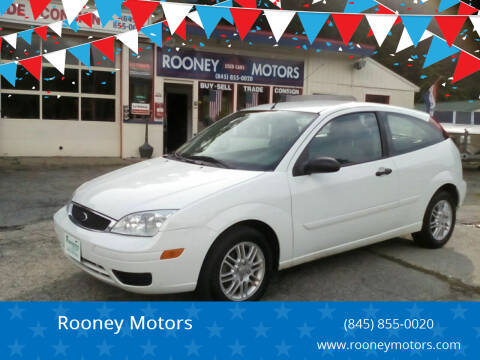 2006 Ford Focus for sale at Rooney Motors in Pawling NY