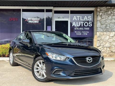 2016 Mazda MAZDA6 for sale at ATLAS AUTOS in Marietta GA