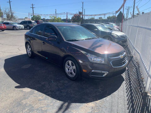 2015 Chevrolet Cruze for sale at Robert B Gibson Auto Sales INC in Albuquerque NM