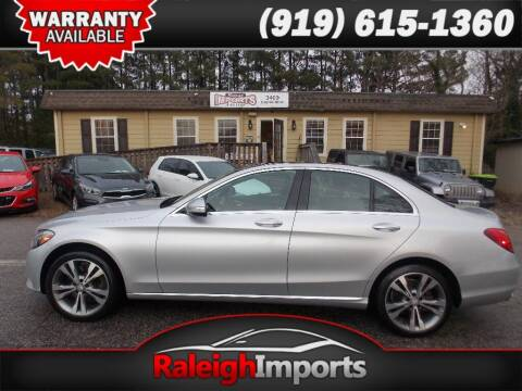 2015 Mercedes-Benz C-Class for sale at Raleigh Imports in Raleigh NC