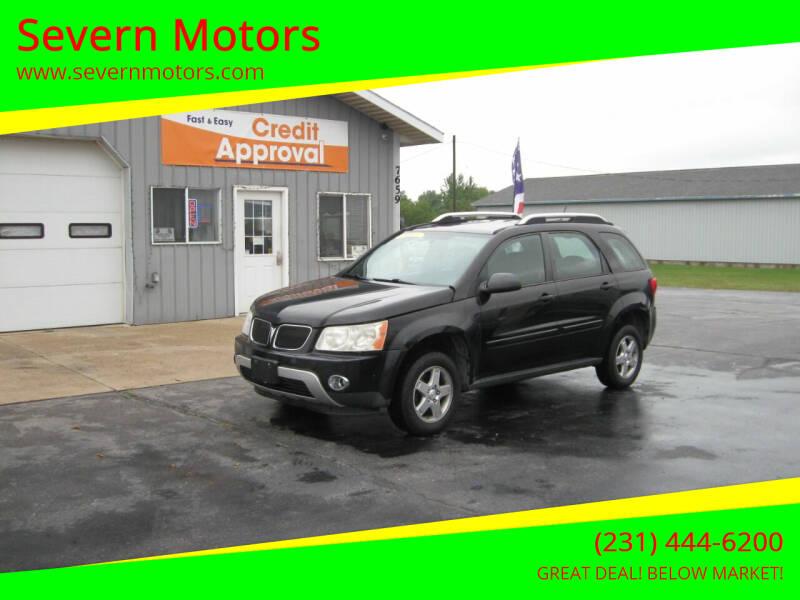 2008 Pontiac Torrent for sale at Severn Motors in Cadillac MI