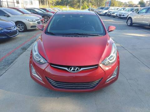 2015 Hyundai Elantra for sale at Adonai Auto Broker in Marietta GA