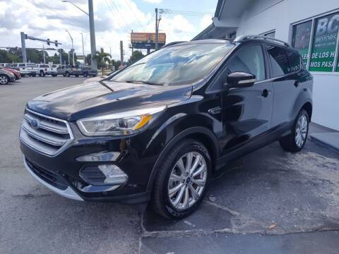 2017 Ford Escape for sale at BC Motors PSL in West Palm Beach FL