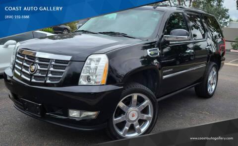 2012 Cadillac Escalade Hybrid for sale at COAST AUTO GALLERY in San Diego CA