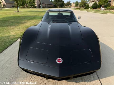 1973 Chevrolet Corvette for sale at Mr. Old Car in Dallas TX