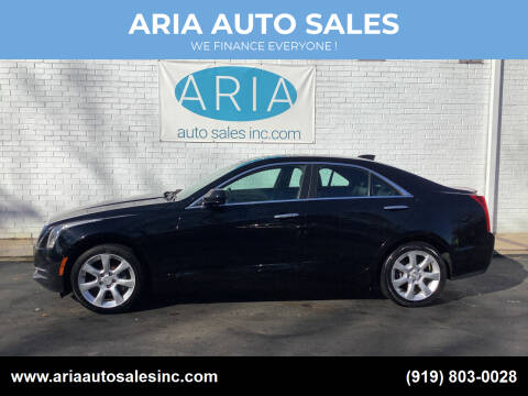 2015 Cadillac ATS for sale at ARIA  AUTO  SALES in Raleigh NC