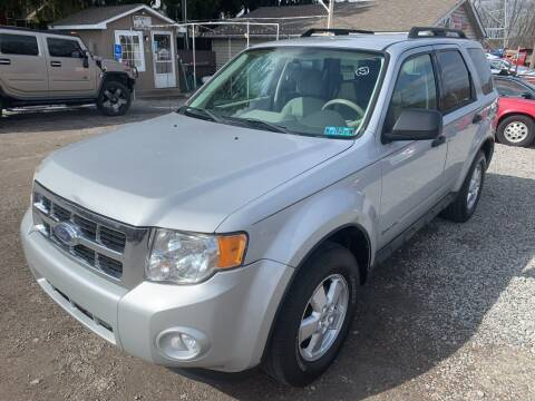 2008 Ford Escape for sale at Trocci's Auto Sales in West Pittsburg PA