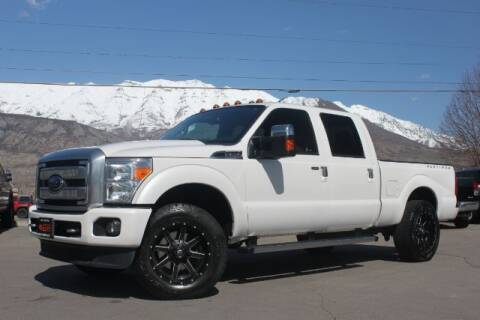 2015 Ford F-250 Super Duty for sale at REVOLUTIONARY AUTO in Lindon UT