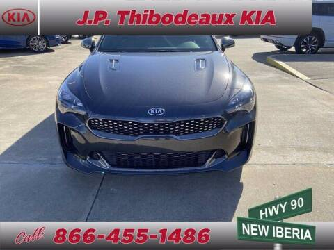 2021 Kia Stinger for sale at J P Thibodeaux Used Cars in New Iberia LA