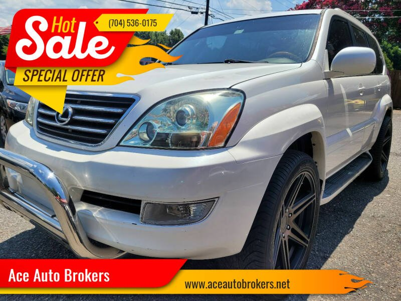 2004 Lexus GX 470 for sale at Ace Auto Brokers in Charlotte NC