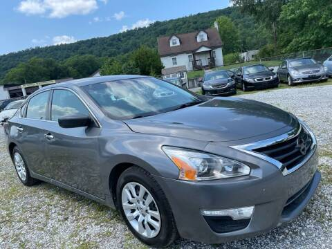 2015 Nissan Altima for sale at Ron Motor Inc. in Wantage NJ