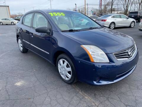 2012 Nissan Sentra for sale at Used Car Factory Sales & Service Troy in Troy OH
