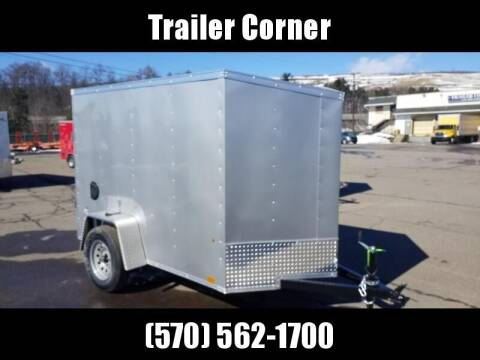 2021 Look Trailers STLC 5X8 - RAMP DOOR