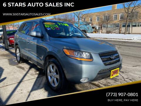 2008 Hyundai Santa Fe for sale at 6 STARS AUTO SALES INC in Chicago IL