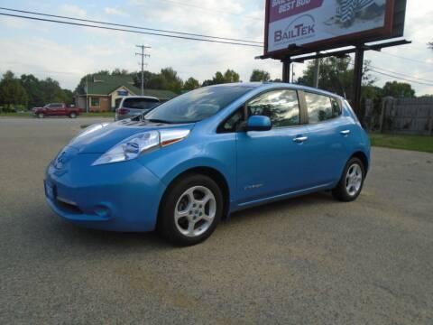 2013 Nissan LEAF for sale at Michigan Auto Sales in Kalamazoo MI