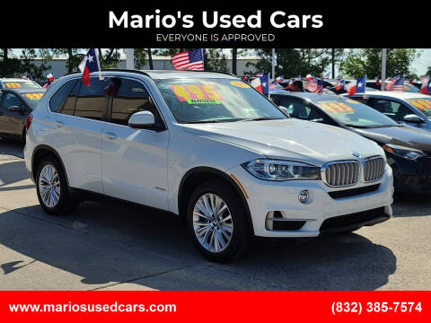 2015 BMW X5 for sale at Mario's Used Cars in Houston TX