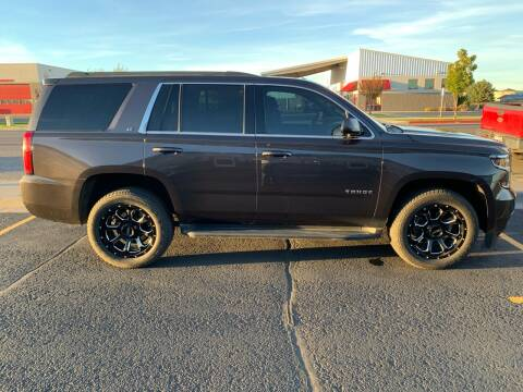 2015 Chevrolet Tahoe for sale at ALOTTA AUTO in Rexburg ID