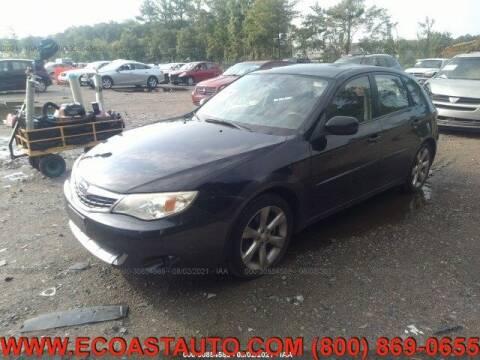 2008 Subaru Impreza for sale at East Coast Auto Source Inc. in Bedford VA