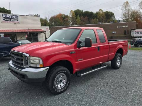 2004 Ford F-250 Super Duty for sale at Clayton Auto Sales in Winston-Salem NC