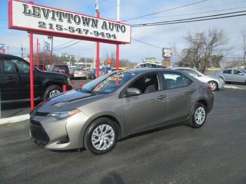2018 Toyota Corolla for sale at Levittown Auto in Levittown PA