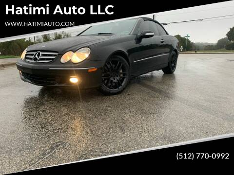 2009 Mercedes-Benz CLK for sale at Hatimi Auto LLC in Buda TX