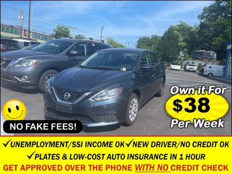 2016 Nissan Sentra for sale at AUTOFYND in Elmont NY