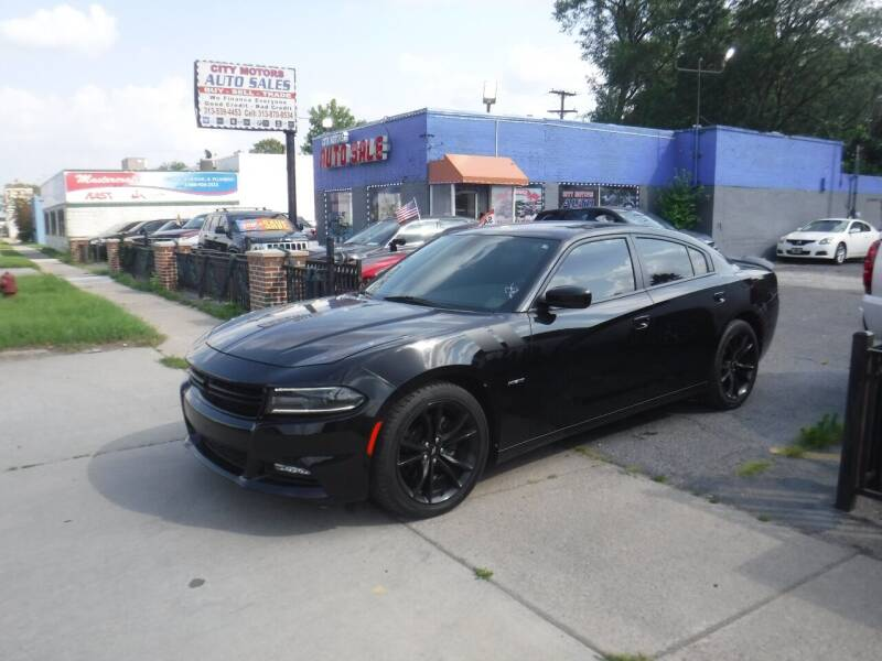 2017 Dodge Charger for sale at City Motors Auto Sale LLC in Redford MI