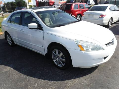 2004 Honda Accord for sale at LEGACY MOTORS INC in New Port Richey FL