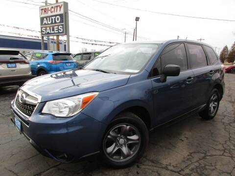 2014 Subaru Forester for sale at TRI CITY AUTO SALES LLC in Menasha WI