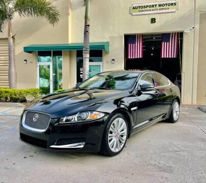 2015 Jaguar XF for sale at AUTOSPORT MOTORS in Lake Park FL