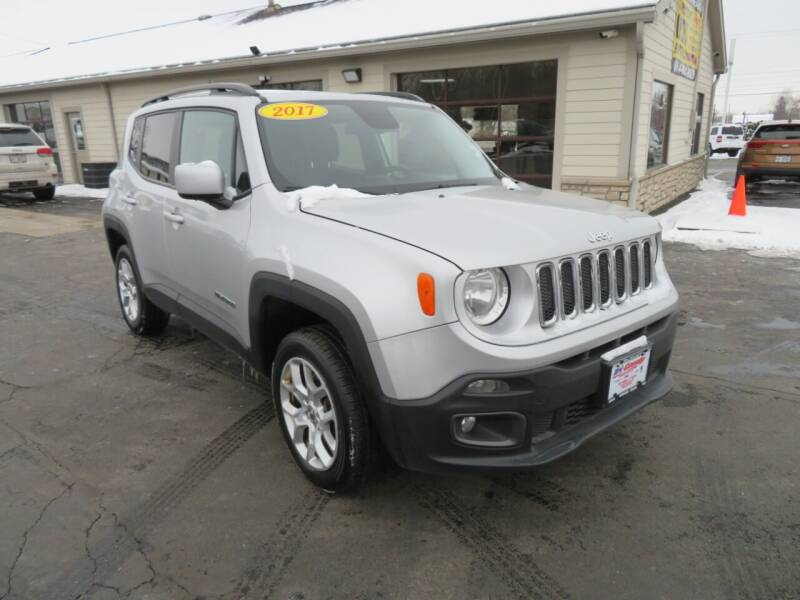 2017 Jeep Renegade for sale at Tri-County Pre-Owned Superstore in Reynoldsburg OH