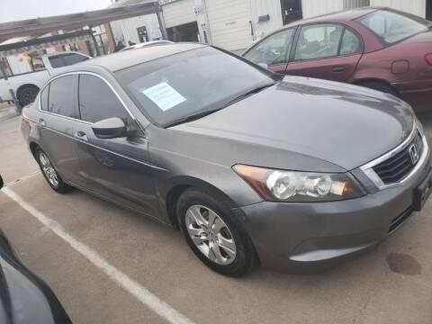 2010 Honda Accord for sale at Bad Credit Call Fadi in Dallas TX