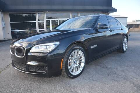 2014 BMW 7 Series for sale at Amyn Motors Inc. in Tucker GA