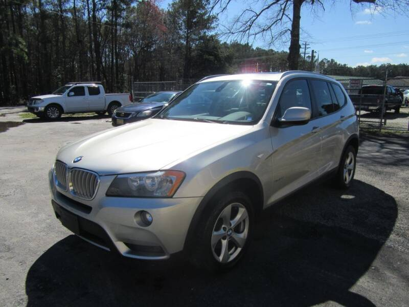 2011 BMW X3 for sale at Bullet Motors Charleston Area in Summerville SC