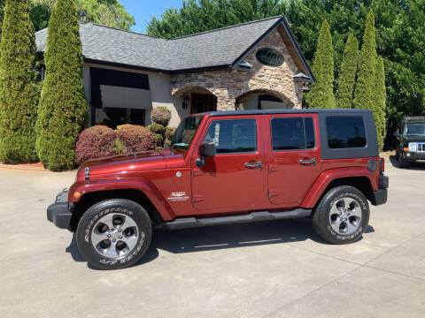 2008 Jeep Wrangler Unlimited for sale at Hoyle Auto Sales in Taylorsville NC