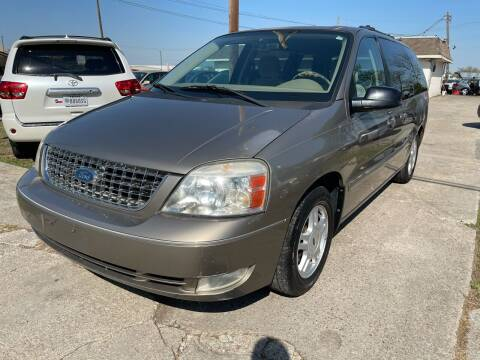 2005 Ford Freestar for sale at Texas Select Autos LLC in Mckinney TX