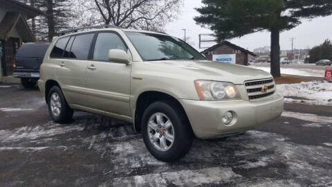 2003 Toyota Highlander for sale at Shores Auto in Lakeland Shores MN