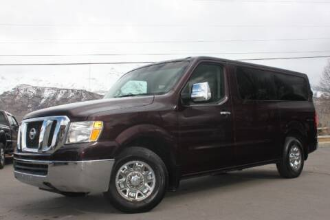 2013 Nissan NV Passenger for sale at REVOLUTIONARY AUTO in Lindon UT