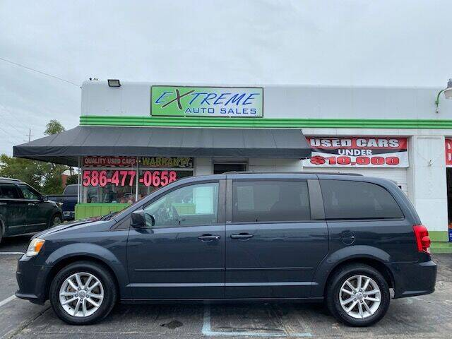 2014 Dodge Grand Caravan for sale at Extreme Auto Sales in Clinton Township MI
