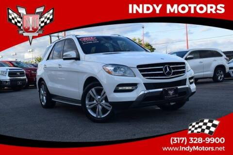 2015 Mercedes-Benz M-Class for sale at Indy Motors Inc in Indianapolis IN