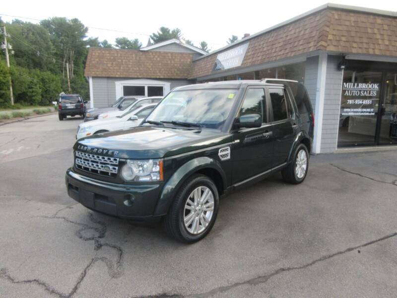 2011 Land Rover LR4 for sale at Millbrook Auto Sales in Duxbury MA
