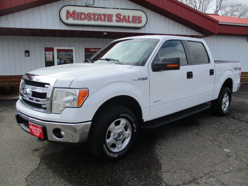 2014 Ford F-150 for sale at Midstate Sales in Foley MN