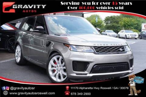 2019 Land Rover Range Rover Sport for sale at Gravity Autos Roswell in Roswell GA